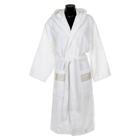 Элитный халат махровый Araldico белый от Roberto Cavalli