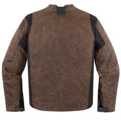 Мотокуртка - ICON 1000 OILDALE (текстиль, коричневая)