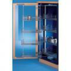 Выдвижная система для высокого шкафа с 8-ю корзинами, 450мм 230B0112