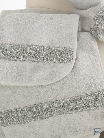 Набор полотенец 2 шт Timas Sheila белый