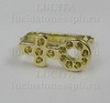 Держатель кулона (цвет - золото) 11х5 мм ()