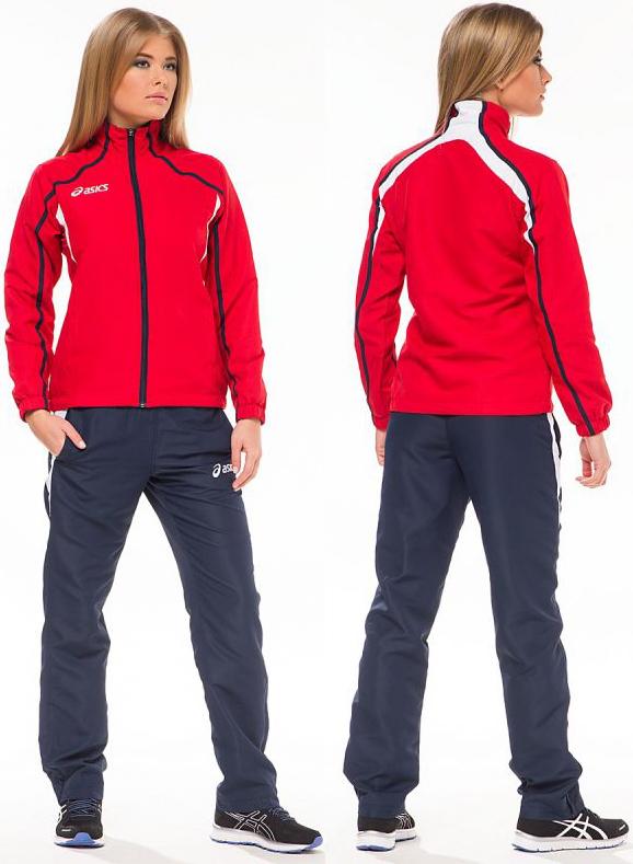 Женский спортивный костюм Asics SUIT PRETTY LADY Red (T817Z5 2650) фото