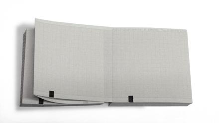 90х90х360 М, реестр  4104, бумага ЭКГ с сеткой и меткой