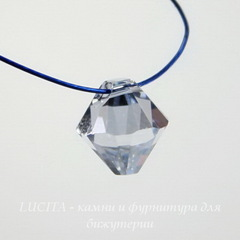 6328 Подвеска Сваровски Биконус Crystal Blue Shade (8 мм)