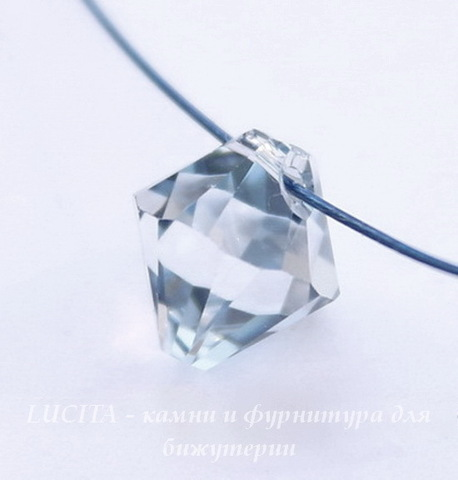 6328 Подвеска Сваровски Биконус Crystal Blue Shade (8 мм) ()