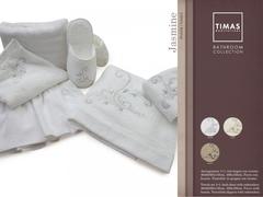 Набор полотенец 2 шт Timas Jasmine белый