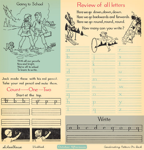 """Лист двусторонней бумаги Workbook из коллекции """"Acid & Lignin Free"""""""