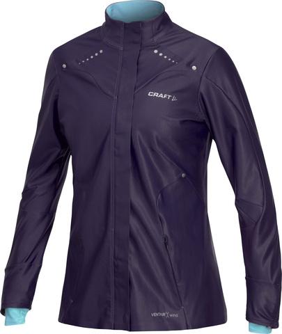 Куртка Craft Elite Race женская фиолетовая