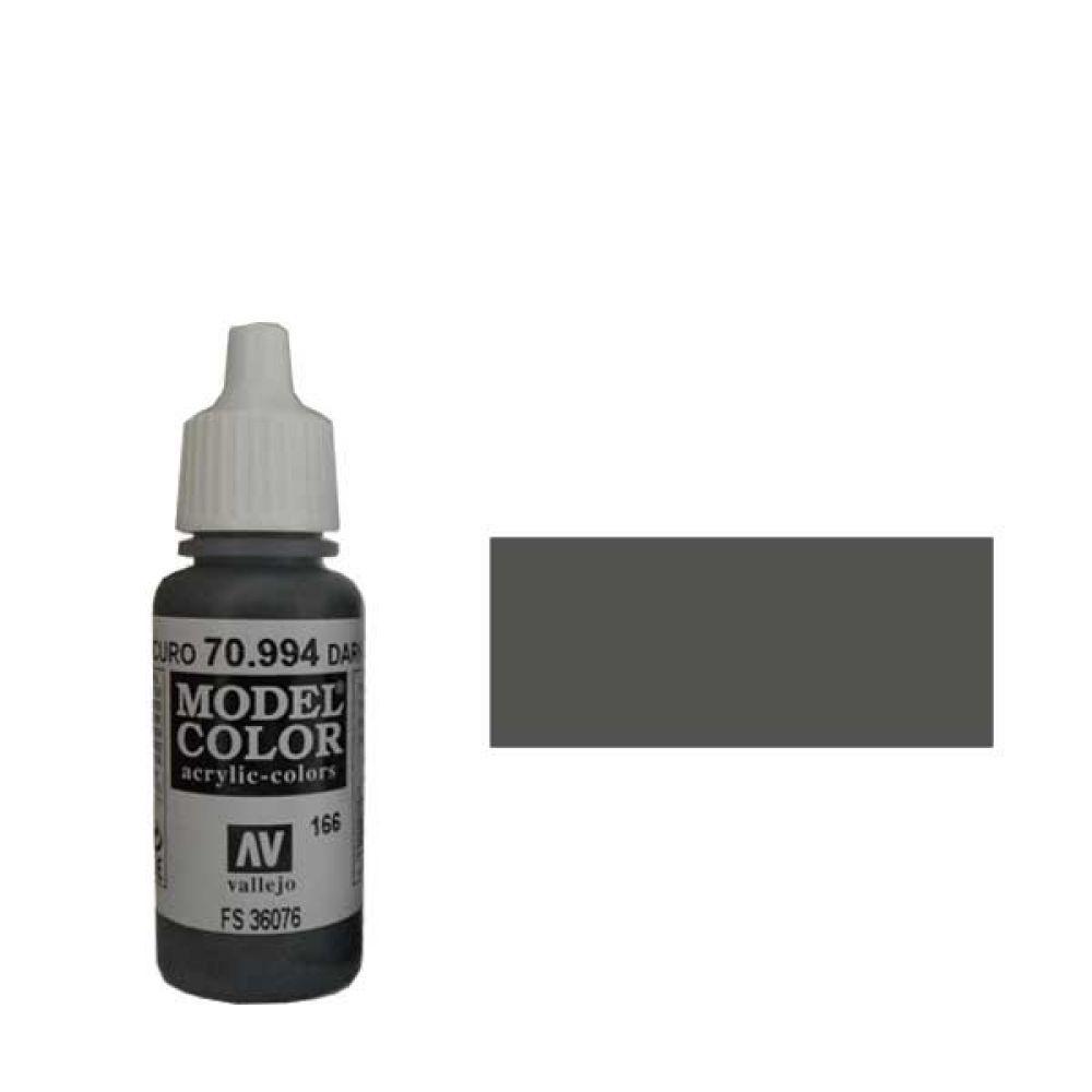 166. Краска Model Color Серый Темный 994 (Dark Grey) укрывистый, 17мл