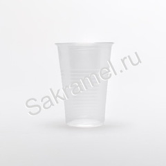 Стаканчики пластиковые (Пластик, прозрачный, 200 мл, 100 шт/упк)