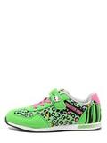 Кроссовки Монстер Хай (Monster High) на липучке для девочек, цвет зеленый. Изображение 3 из 8.