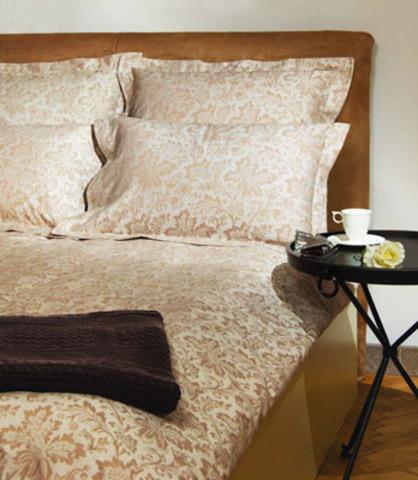 Постельное белье 1.5 спальное Bovi Marquise коричневое