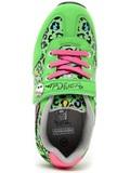 Кроссовки Монстер Хай (Monster High) на липучке для девочек, цвет зеленый. Изображение 7 из 8.