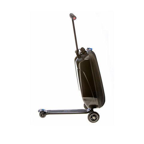 micro-scooter Micro Luggage. Cамокат и чемодан .