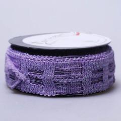 Лента Florima 4см*9м фиолетовый с блестками