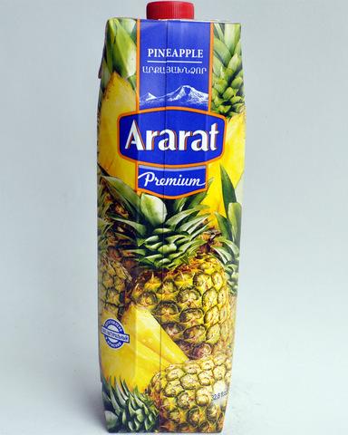 Нектар Арарат ананасовый, 1л