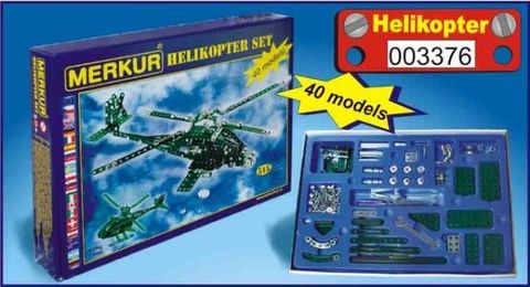 Merkur М-3376 Металлический конструктор HELIKOPTER Set