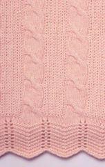 Элитный плед детский Imperio 93 розовый от Luxberry
