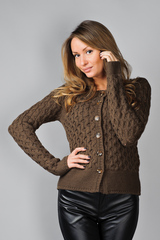 Кардиган Nice Things (Brown)