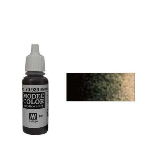 181. Краска Model Color Дымчатый 939 (Transparent Smoke) прозрачный, 17мл