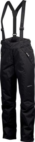 Лыжные брюки Craft Wedge женские чёрные