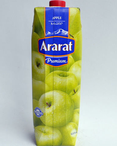 Сок Арарат яблочный, 1л