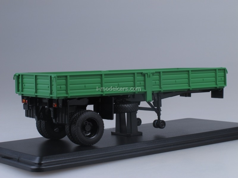 Semitrailer ODAZ-885 1:43 Start Scale Models (SSM)