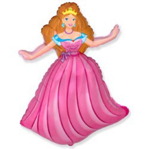 Шар принцесса 81см