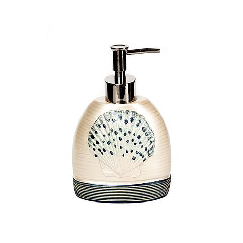Дозатор для жидкого мыла Hampton Shells от Avanti