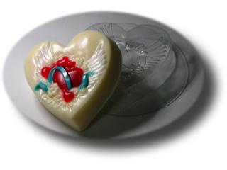 На крылььях любви Форма для мыла