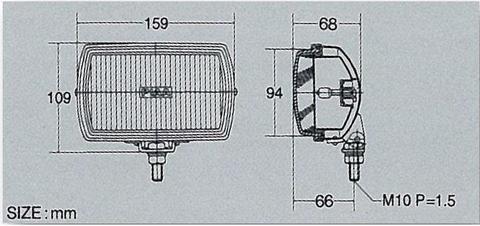 Дополнительные фары PIAA 50 XT Series LK057B (противотуманка)