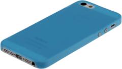Чехол пластиковый для iPhone 5 / 5S ENSI накладка ГОЛУБОЙ