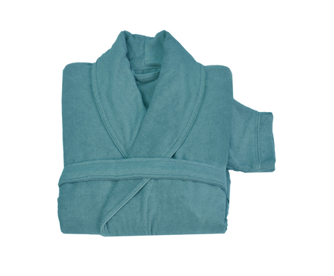 Элитный халат кашемировый Qashmare бирюзовый от Hamam