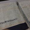 Набор полотенец 2 шт Trussardi Continent серый