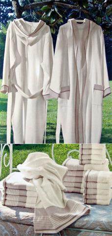 Элитный халат махровый Ischia от Caleffi