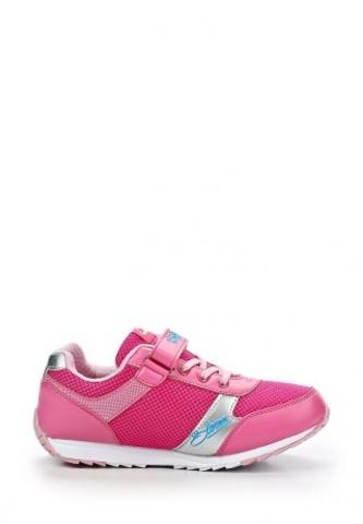 Кроссовки Винкс (Winx) на липучке и шнурках для девочек, цвет розовый, фея Блум. Изображение 6 из 8.