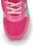 Кроссовки Винкс (Winx) на липучке и шнурках для девочек, цвет розовый, фея Блум. Изображение 7 из 8.