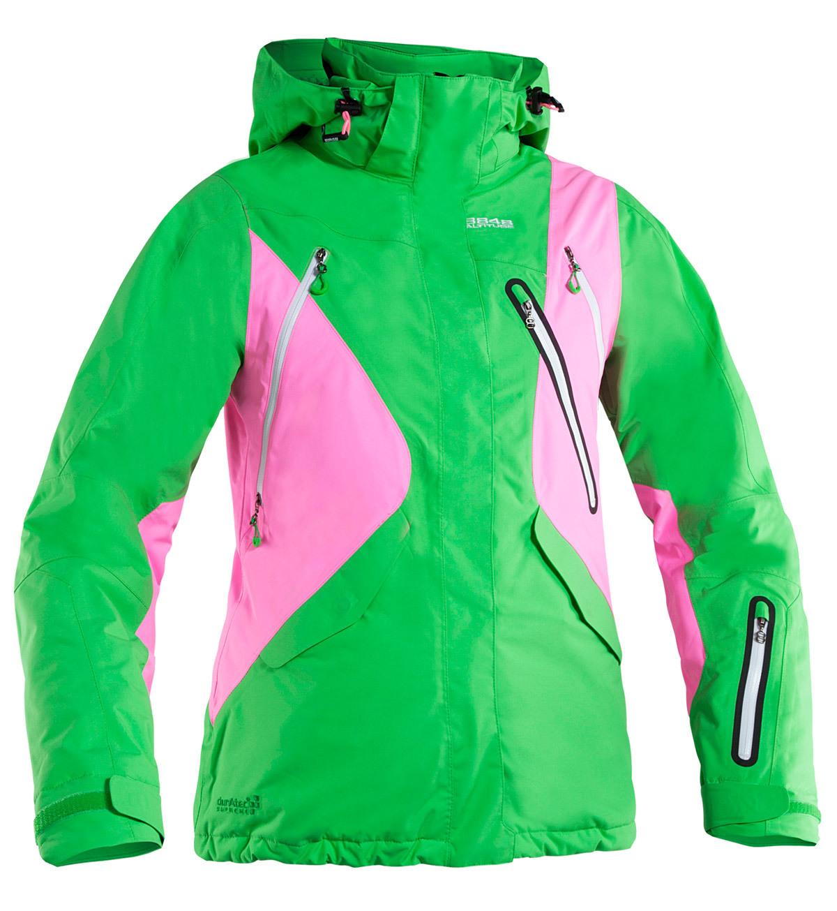Горнолыжная куртка 8848 Altitude Cindrell зеленая