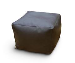 Пуфик куб Уголь