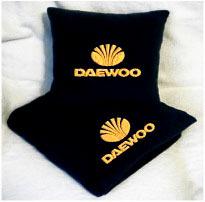 Плед в чехле с логотипом Daewoo