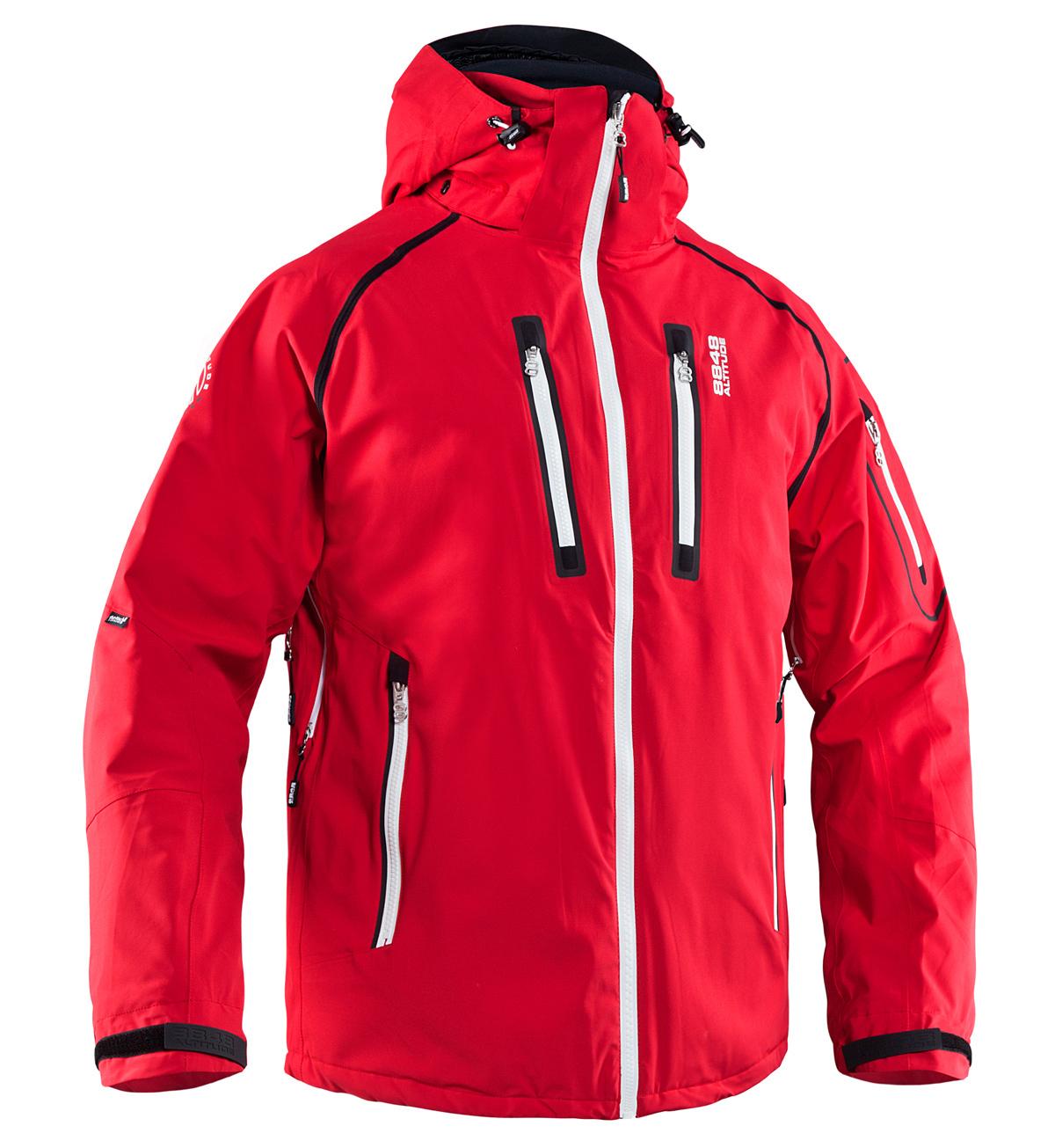 Горнолыжная куртка 8848 Altitude «LUNAR» Red
