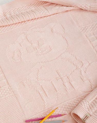 Элитный плед детский Imperio 16 розовый от Luxberry