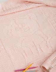 Плед детский 75х100 Luxberry Imperio 16 розовый