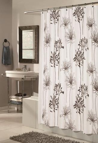 Элитная шторка для ванной Cologne 79 от Carnation Home Fashions