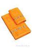 Набор полотенец 2 шт Caleffi Yupi оранжевый