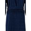 Элитный халат велюровый мужской 3807 синий от Cawo
