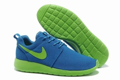 Nike Roshe Run Material Blue Green