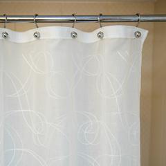 Элитная шторка для ванной Embroidery 1805 C. Natural от Arti-Deco