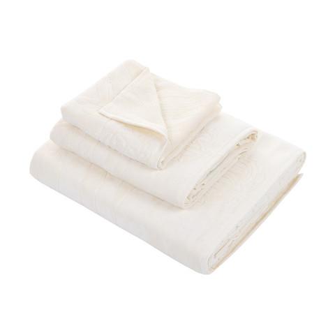 Набор полотенец 2 шт Roberto Cavalli Zebrona молочный