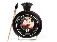 Декоративная крем-краска для тела Shunga (Шунга) Афродизия с ароматом шоколада (100 мл)